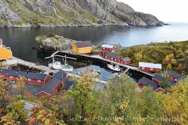 挪威,  羅浮敦群島, lofoten island, norway, nusfjord