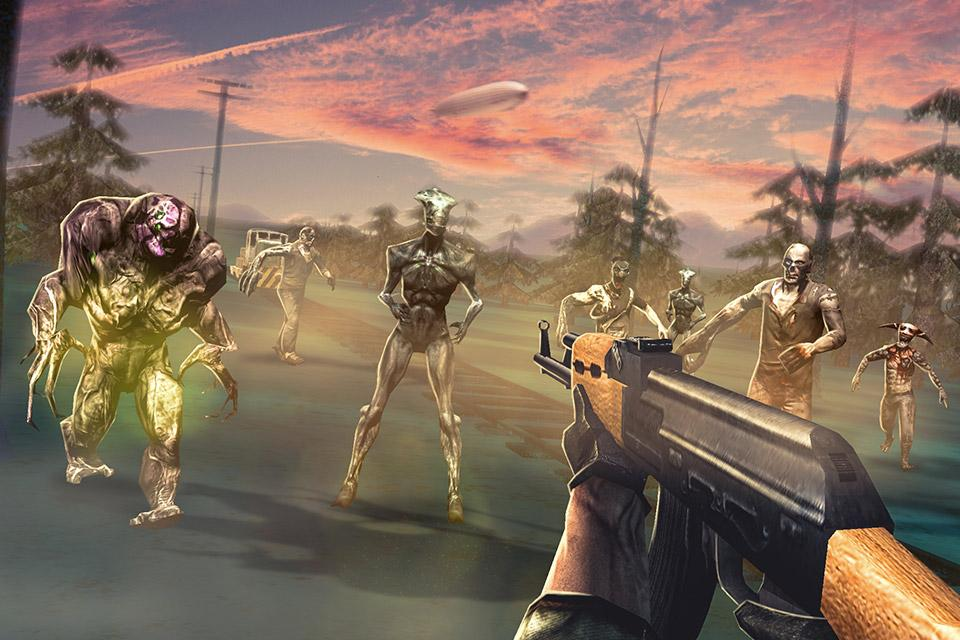 ZOMBIE Beyond TerrFPS Shooting Game MOD APK terbaru