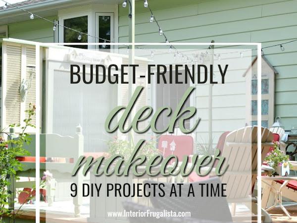 Budget Friendly Deck Makeover Reveal