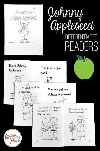 Johnny Appleseed mini-books, free download