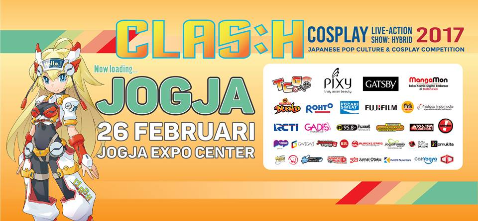 CLASH 2017, Japanese Pop Culture dan Cosplay Competition Yogyakarta