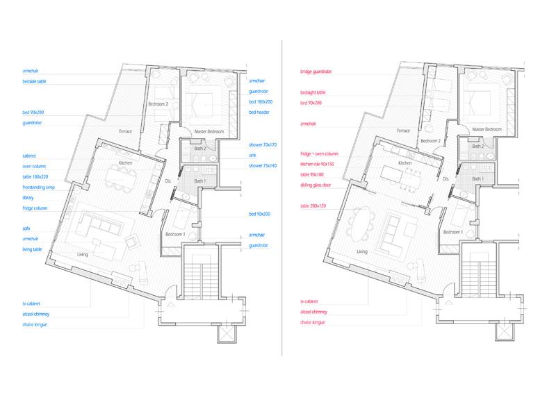 progetto interior design architetto Gabriele Sinacori  GoPillar