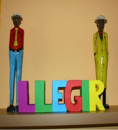 DIY manualidad letras decorativas