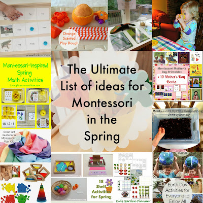 The Ultimate list of Montessori in the Spring {Montessori on a Budget} #Montessori #Springtime