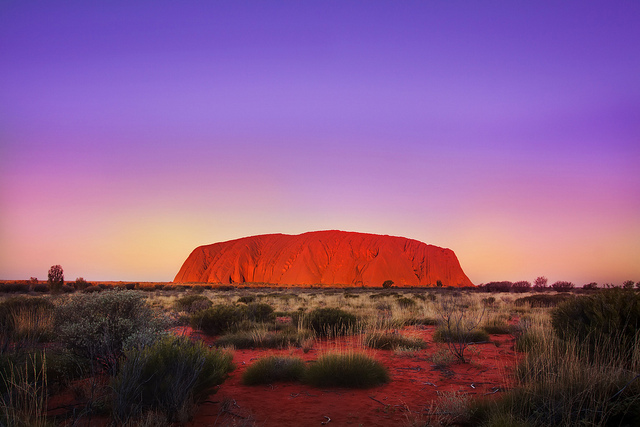 Uluru and the red centre