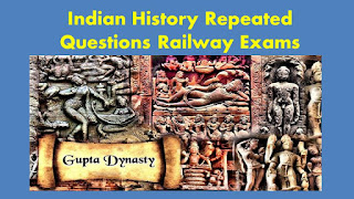 Indian History repeated bits in Railway ALP Group D Exams
