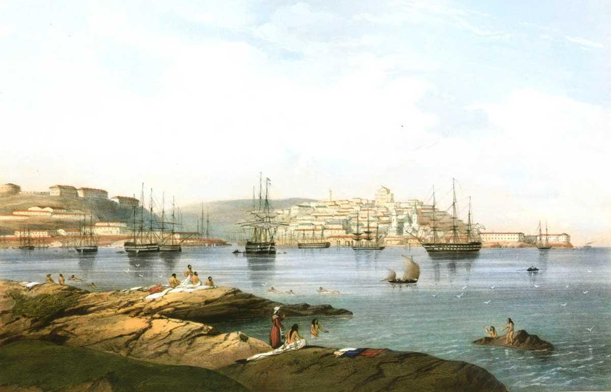 Карло Буссоли. «Севастополь», 1840 г.