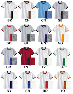 Ringer Tee Wholesale Suppliers Allow You to Buy Bulk Ringer T-Shirts for Crafting