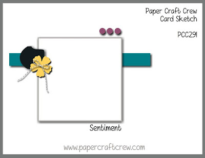 Paper Craft Crew Card Sketch Challenge #PCC291 order Stampin' Up! from Mitosu Crafts UK Online Shop