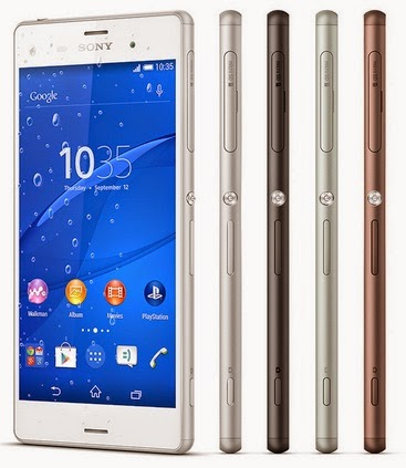 Sony Xperia Z3 Smartphone Android Harga Rp 7 Jutaan