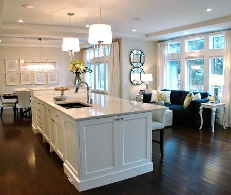 Ideally suited for light, open spaces, DARK HARDWOOD floors provide a home  with undeniable character, elegance and style.