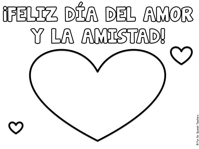 Mi amor coloring pages ~ El Día del Amor y la Amistad en Colombia (Colombia's Day ...