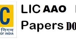 Lic Aao Question Paper 2013 Pdf