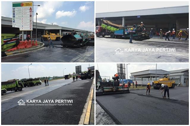Kontraktor Pengaspalan Hotmix, Jakarta Bogor Bandung Jawa barat
