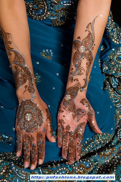 Glitter Mehndi Body Art 2 International Fashions World