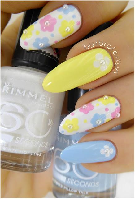 Pastelowe kwiatuszki