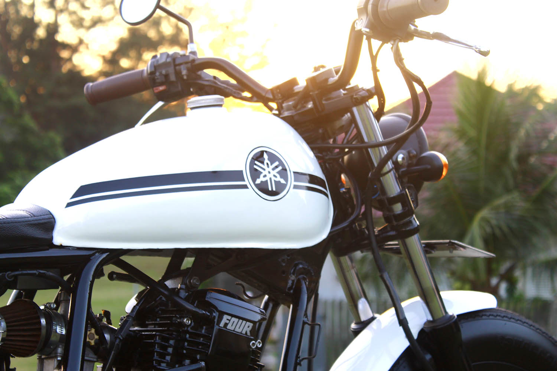 Tangki Japstyle Bobber Yamaha Scorpio