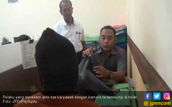 Bejat! Pria Ini Pasang Kamera Tersembunyi di Toilet Kantor