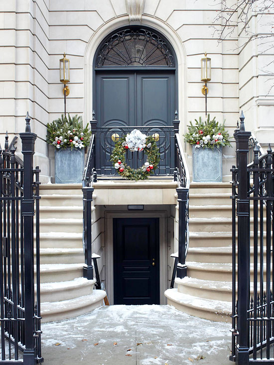 Inside the Brick House: Front Door Christmas (and Some ...