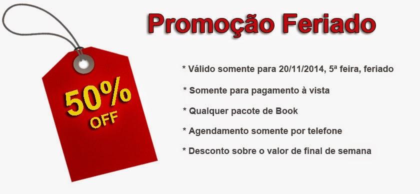 Promoção Book Feriado