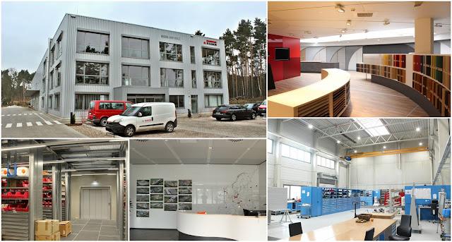 Das neue Instandhaltungs- und Servicegebäude in Gifhorn