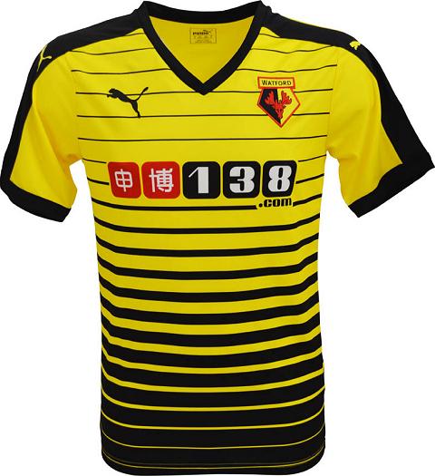 9333d9c535c501 Compre camisas do Watford e de outros clubes e seleções de futebol, além de  vários outros artigos esportivos na Fut Fanatics.