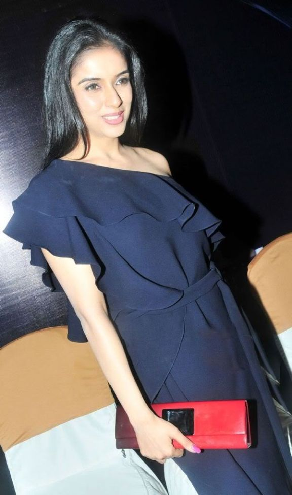 Actress Asin Photos In Black Dress