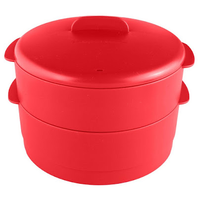 New Tupperware - steam it