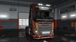 Iron Man Skin Volvo 2013