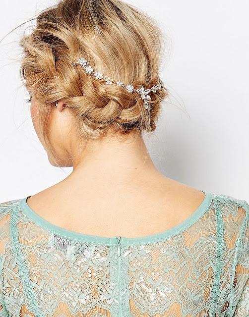 love rocks rose gold hair wedding, love rocks hair drape, rose gold wedding hair,