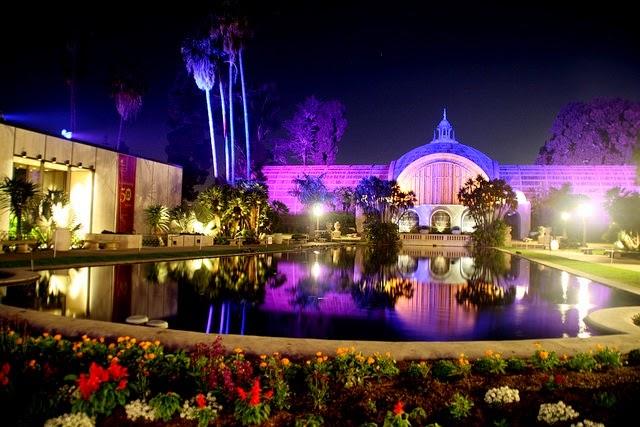 balboa park christmas lights