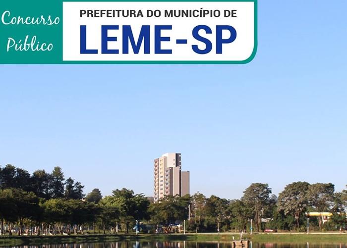 Prefeitura de Leme concurso 2018-2019 (APOSTILAS)