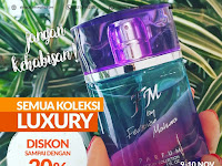 Promo Diskon Up to 20% Semua Parfum Luxury Collection 9-10 November 2017