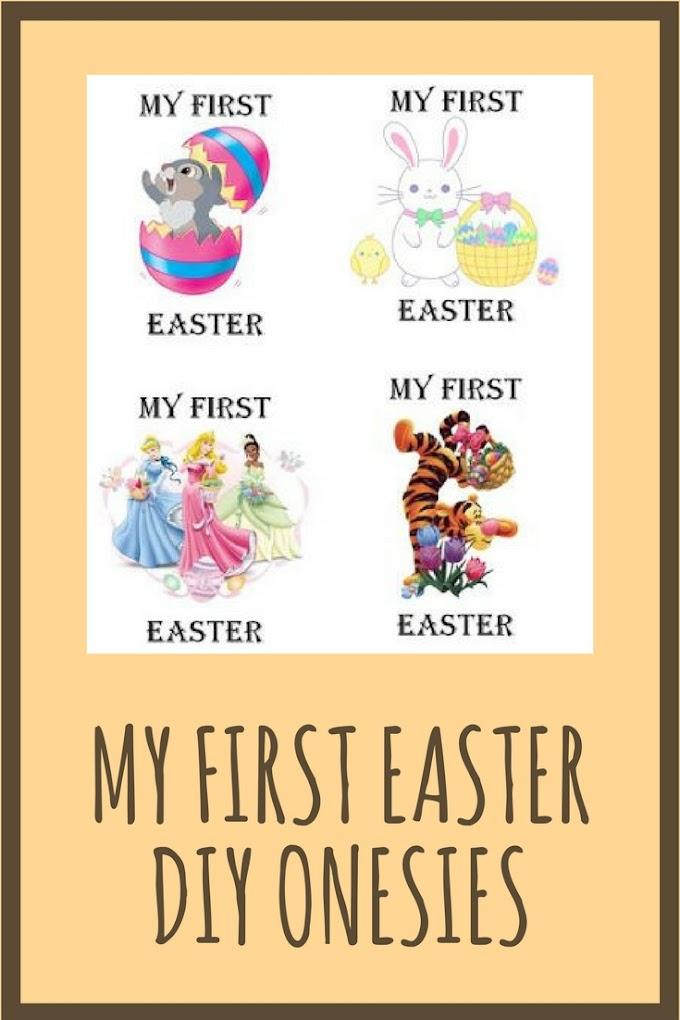 First Easter Onesie Printables