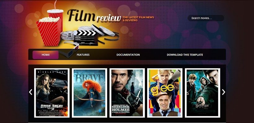 Film Reviews Free Blogger Template