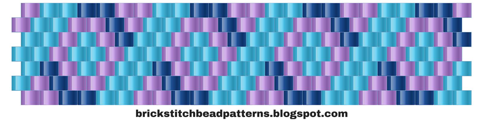 brick stitch bead patterns journal 4 free brick stitch