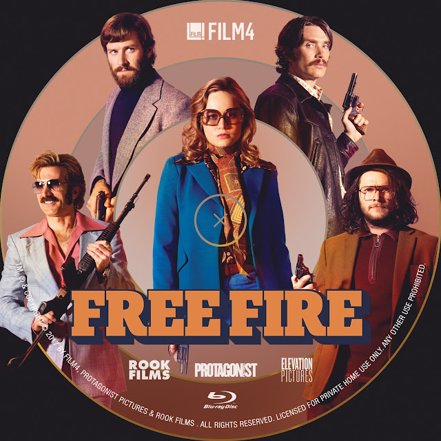 Free Fire Bluray Label