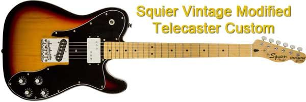 Guitarra Eléctrica Squier Vintage Modified Telecaster Custom