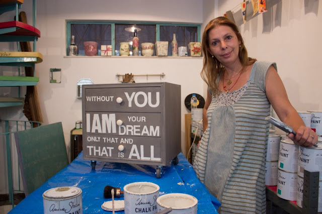 Woodpicker: Έλσα Κοππάση 1 Annie Sloan Greece