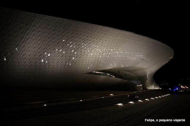 o novo MAAT - Museu de Arte, Arquitetura e Tecnologia