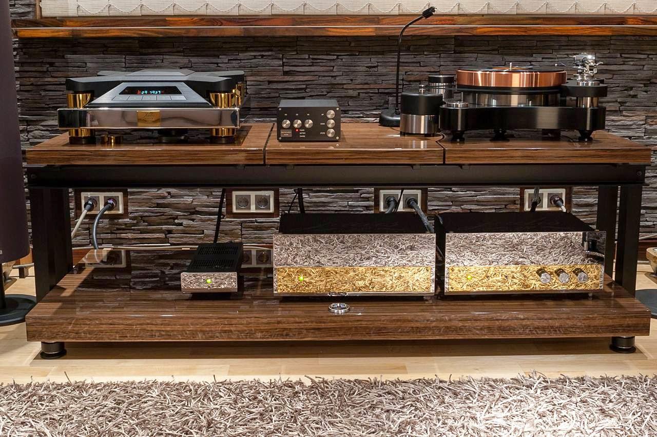 Franc Audio Accessories Wood Block Rack Special Edition