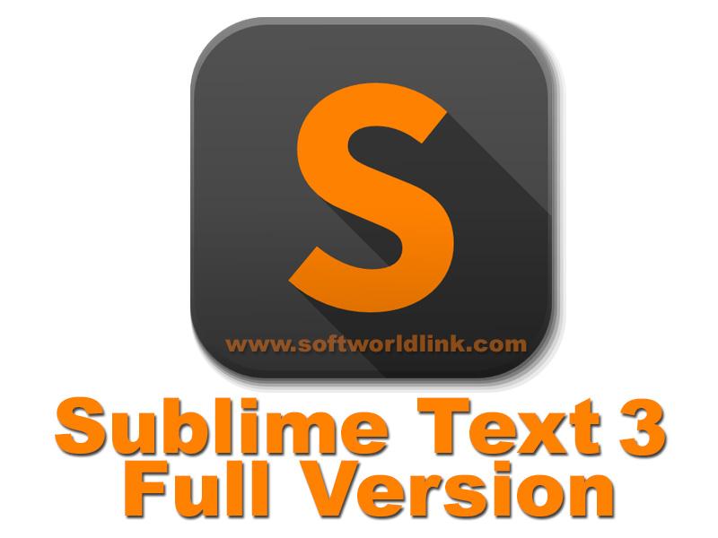 sublime text 3 скачать бесплатно