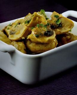 Thermomix cocina: Champiñones en salsa
