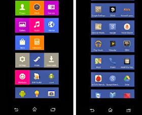 Nokia x: how to get android homescreen launcher on.
