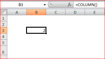 Column Function without Reference