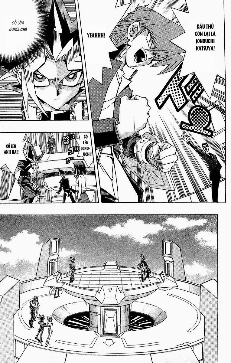YUGI-OH! chap 243 - jonouchi và marik trang 14