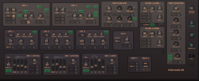 B6 Andromeda A6 Emulation VST Plugin