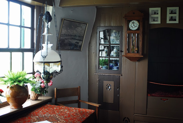 intérieur moulin Kinderdijk