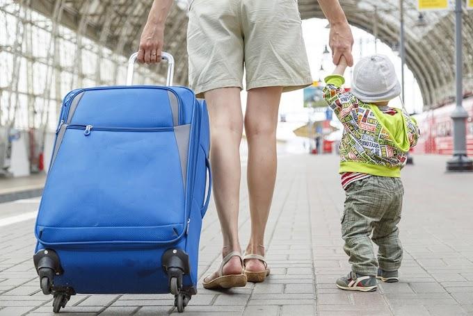 Travelling Kondusif Naik Kereta Bersama Anak-Anak