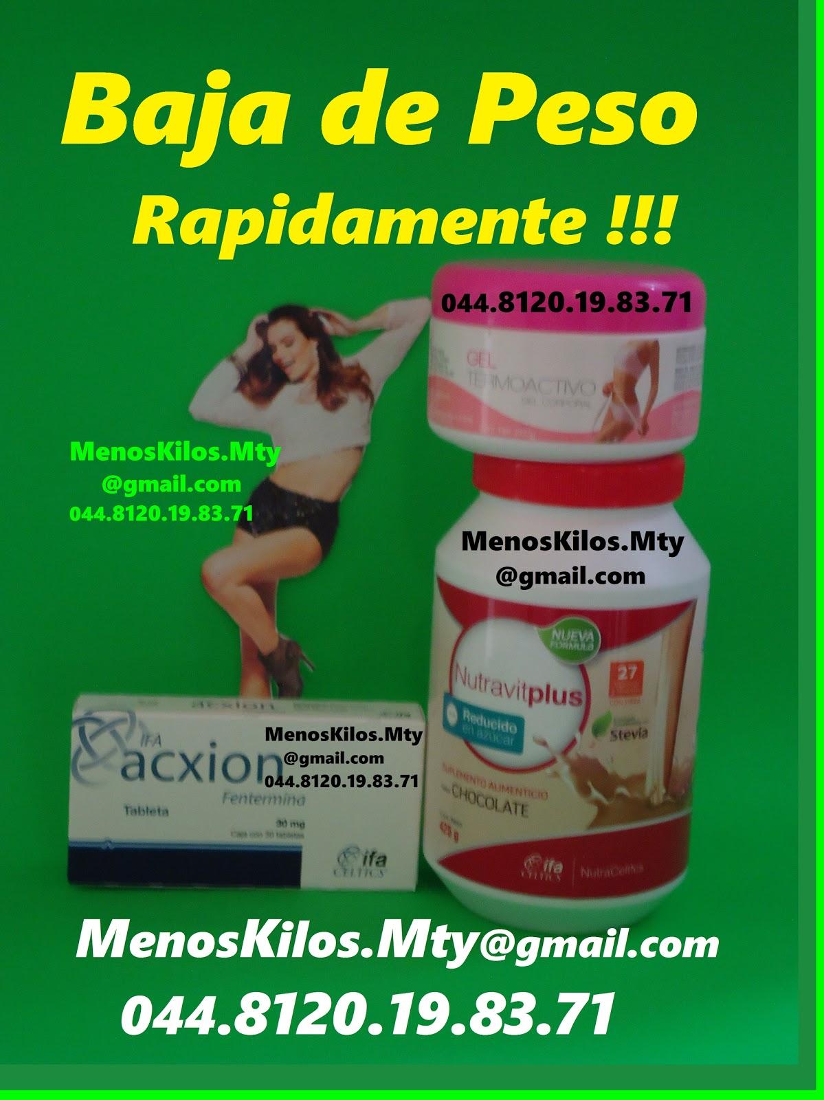 Tratamientos para bajar de peso en monterrey mexico